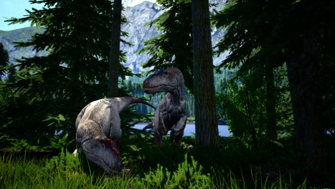 Братья-аллозавры.
