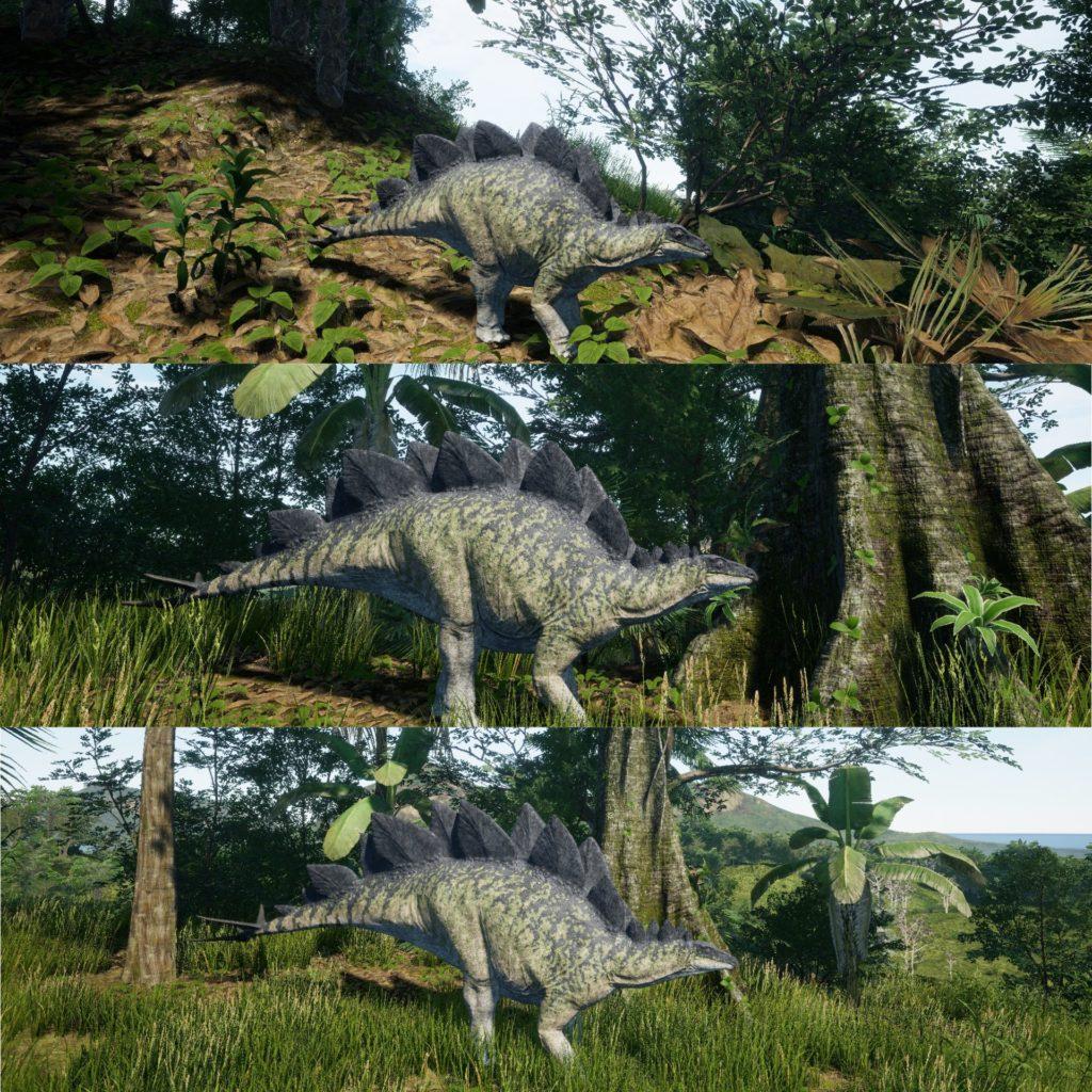 стадии роста стегозавра.